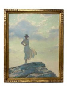 Charles Courtney Curran The Top Of The World