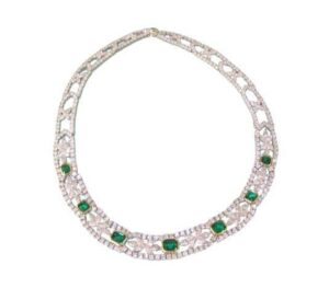 Tiffany & Co Emerald & Diamond